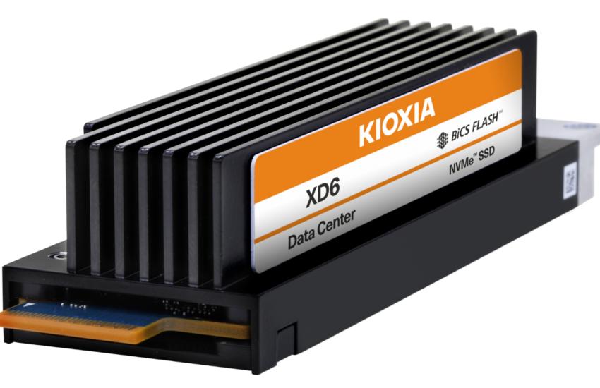 KIOXIA XD6 NVMe SSD