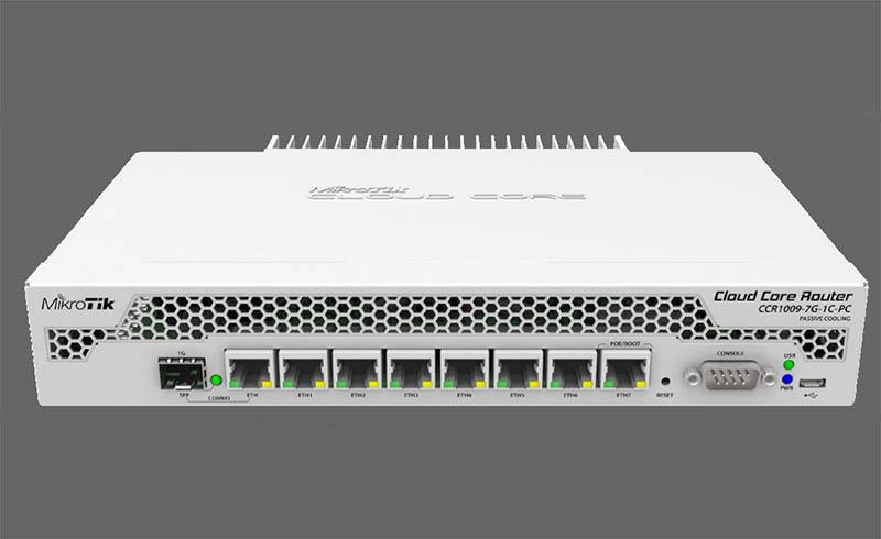 MikroTik CCR1009 7G 1C PC