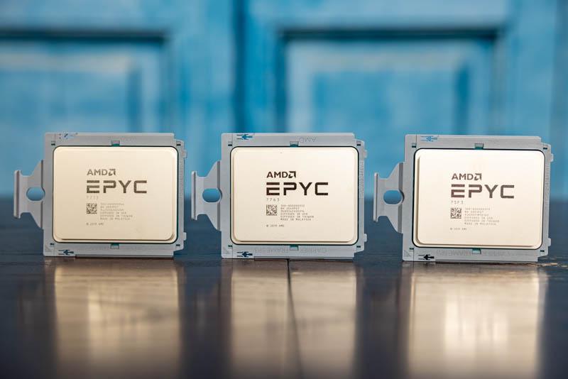 AMD EPYC 7003 High End SKUs